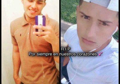 QEPD David Bonilla y Marlon Guzmán jóvenes futbolistas de El Salvador