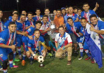 Selección Centroamericana ganó C.S.C.