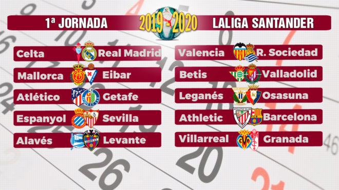 Calendario Agosto 2020 Espana.Lista Liga Espanola Conozca El Calendario Fd Radio Tu
